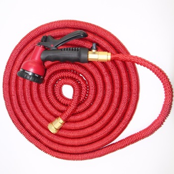 Stretch hose holder
