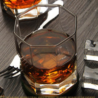 2016 popular personalized whiskey tumbler glasses for hotels