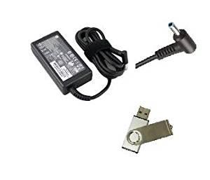 "Bundle:2 items -Adapter&Power Cord/ USB Drive;HP HSTNN-LA35 45W Replacement AC Adapter""PowerSupply""Cord/Charger fit models:HP 256 G3, HP 246 G3, HP 245 G3HP 240 G3, HP 345 G2, HP ProBook 450 G2, HP ProBook 445 G2, HP ProBook 440 G2, HP ProBook 430 G2, HP SlateBook 14-p000, HP SlateBook TPN-q137, HP"