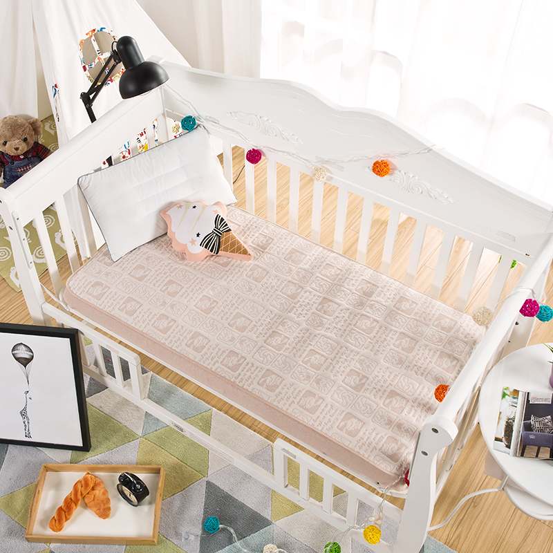 High Quality Organic Baby Sheet Crib Waterproof Bedding Fitted Bed Sheet