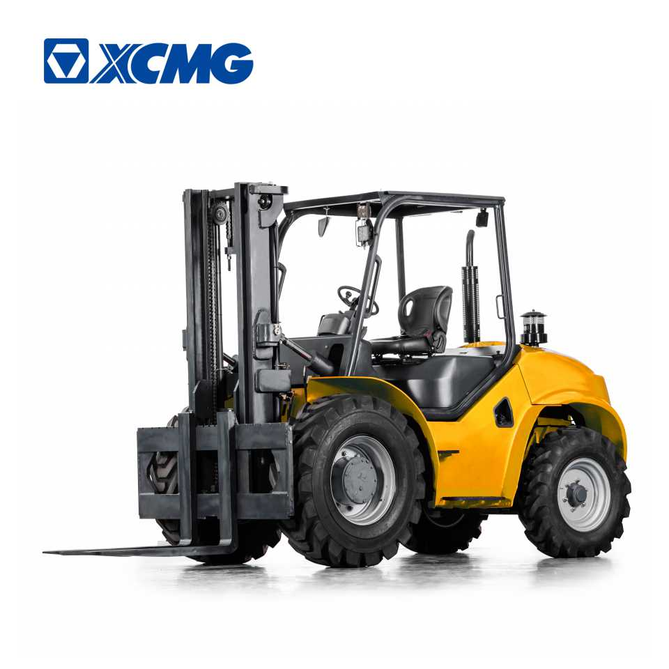 XCMG 2 ton 2.5 ton 3 ton 3.5 ton diesel forklift 4x4 forklift truck for sale