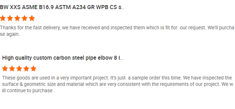 90 degree sch40 short radius carbon steel pipe fittings elbow