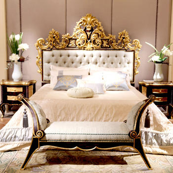 Antique King Size Bed Luxury Beds