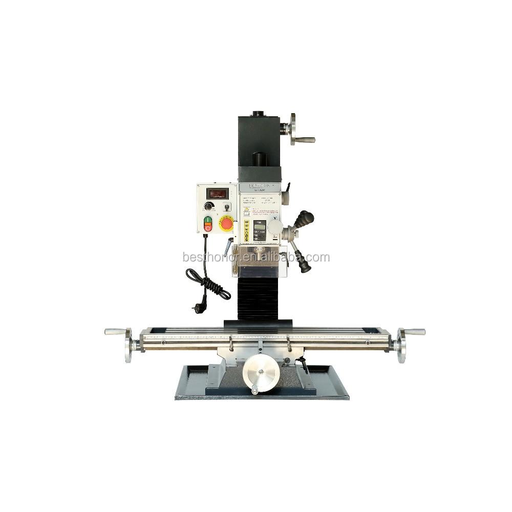 Mini Hobby Steel Making Milling Machine With Dro Bt16v