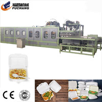 Plastic Dish Plate Making Price Disposable Cup PS Container Thermoforming Machine