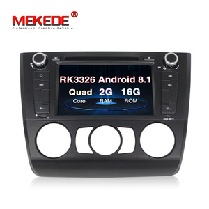 MEKEDE 7 inch Android 8.1 car Radio dvd player For BMW 1 series E88 E87 E82 E81 I20 GPS navi BT 1080P Ipod 3G WIFI free Map