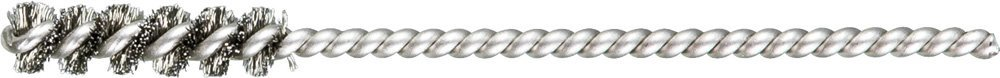 """PFERD 83387 SpyraKleen Tube Brush, Single Stem/Spiral, .005"""", Stainless Steel Wire (INOX), 1/4"""" Diameter, 1/8"""" Stem, 1"""" Brush Part Length (Pack of 36)"""