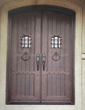 2016 Main Entry Entrance iron door/ American Swing Open Style and ...