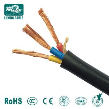 Multi Core Flexible Copper Wire Pvc Insulated H03vv F H05vv F Ttr ...