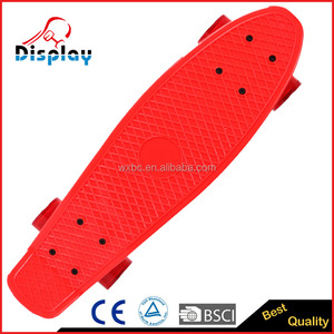 2016 new design mini skateboard for sale, hot sell plastic skateboard