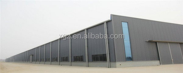 metal cladding pre-made industry shed