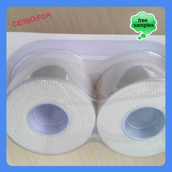 Alibaba China OEM athletic printed Sports Rigid Strapping Tape cotton
