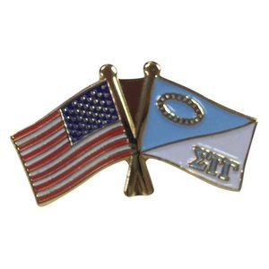 New warehouse cheap high quality state US flag custom enamel lapel pin