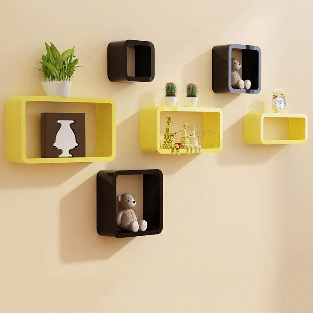 Buy Yi magic partition wall shelf TV backdrop decorative wall shelf ...