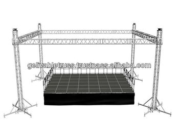 Stage Lighting Truss System With Top Section Aluminum Product On Alibaba