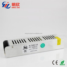 High efficiency 180W 15A psu switching power module 12v led strip shape power supply