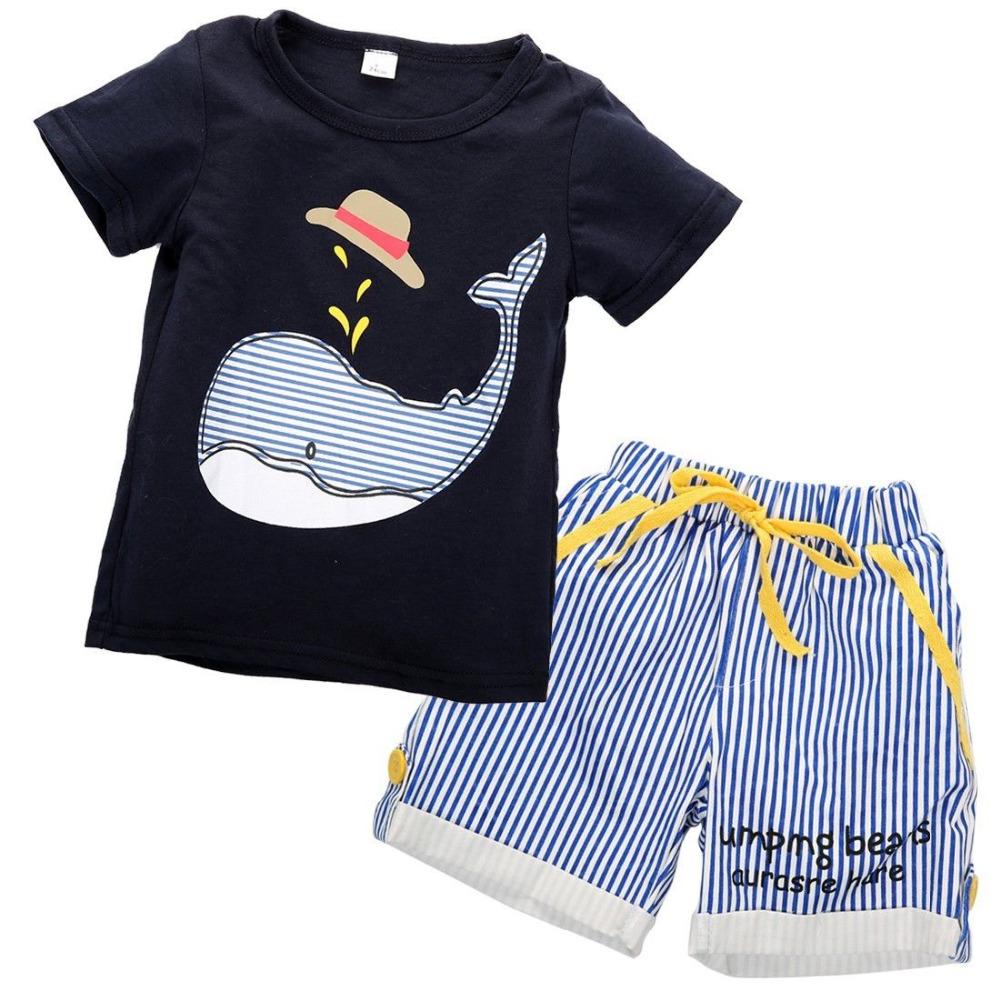 766e3e3404b4 2016 NEW children clothing set stars boys set baby sets short t shirt+pants 2  pcs set clothes kids suit 2-7Years ~ kids clothes for boys ~ Bajby.com - is  ...