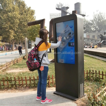 Outdoor Outside Lcd Digital Signage New Idea Outdoor Advertising ...