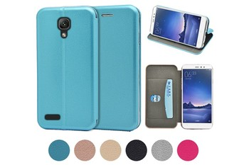 Newest 360 Protective full curved Slim Wallet Case for XiaoMi Redmi mi note