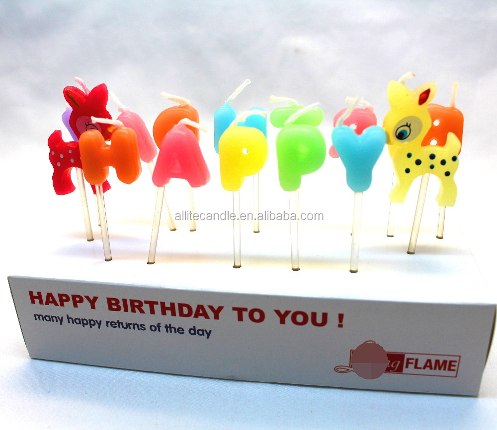 Allite Flameless Fancy Birthday Cake Candles Buy Birthday Cake