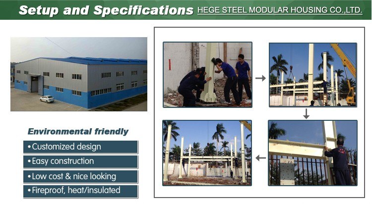 prefabricated steel structure building design
