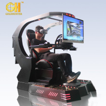 Guangzhou Factory Game Center Machines Seat Racing Simulator 9D Cockpit