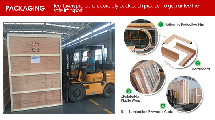 Factory price wholesale exterior solid wood doors for home softwood door panels
