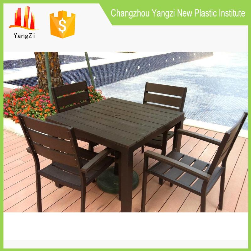fbrica plstico blanco pequeo al aire libre mesas de jardn