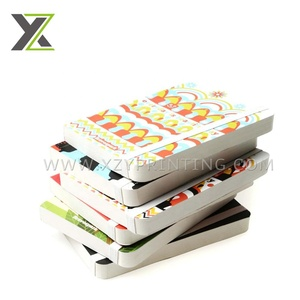 OEM small series size custom design a4 paper notebook printing