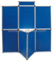 competitive price aluminium folding panel screen with header