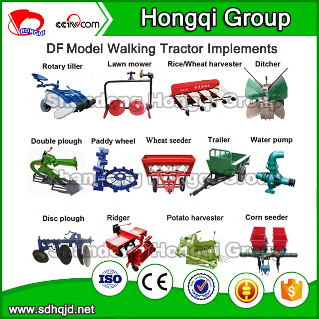 DF Model Water-cooled / Condensing cooled DIESEL ENGINE walking tractor , low price power tiller for sale