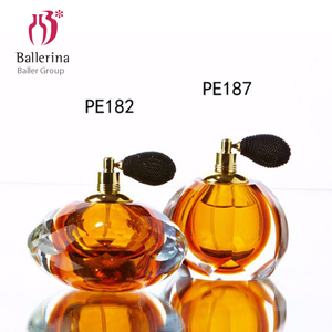 Ballerina Crystal Atomizer Pump Perfume Bottle Vintage Glass Perfume Bottles for Home Decor
