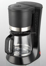Hot sell Cheap 1.2L electric Drip Coffee maker machine 8 cups