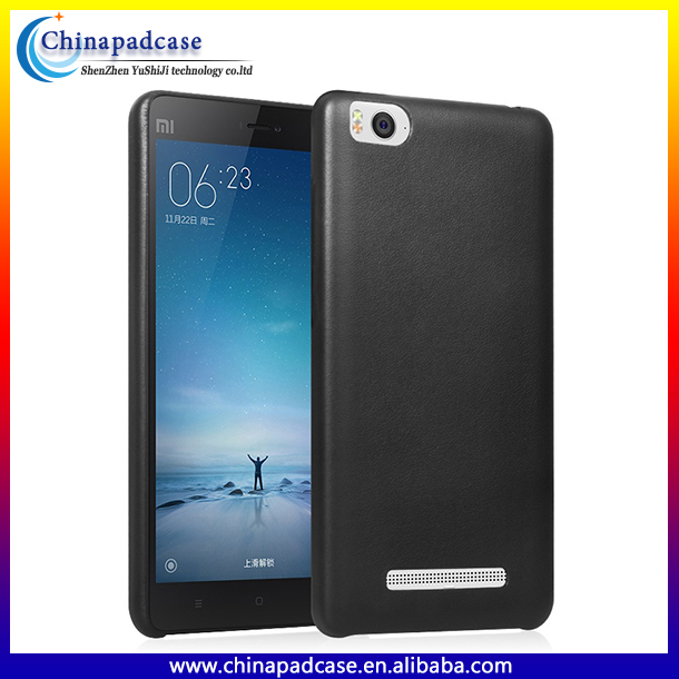 High quality Imported PU leather back cover for Xiaomi Redmi note 3 with Microfiber lining/PU case for Xiaomi Redmi note 3