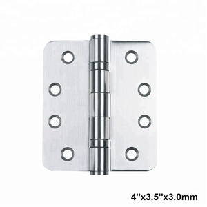 Security Radius Corner Door Hinge for Exterior and Interior Door