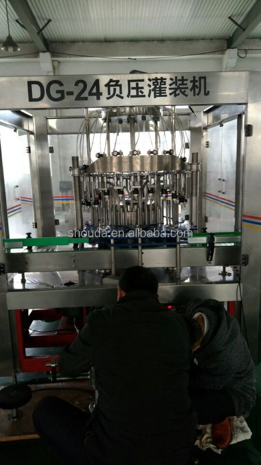 100% factory for sale Apple Cider Vinegar bottling filling machinery/equipment/dispenser