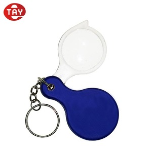 Mini pocket small magnifying glass with key chain