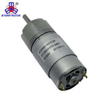 24v high torque 30kg.cm dc gear motor with carbon brush