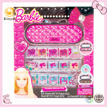 Barbie Fashion Girl Portable cosmetic mirror case makeup kit set