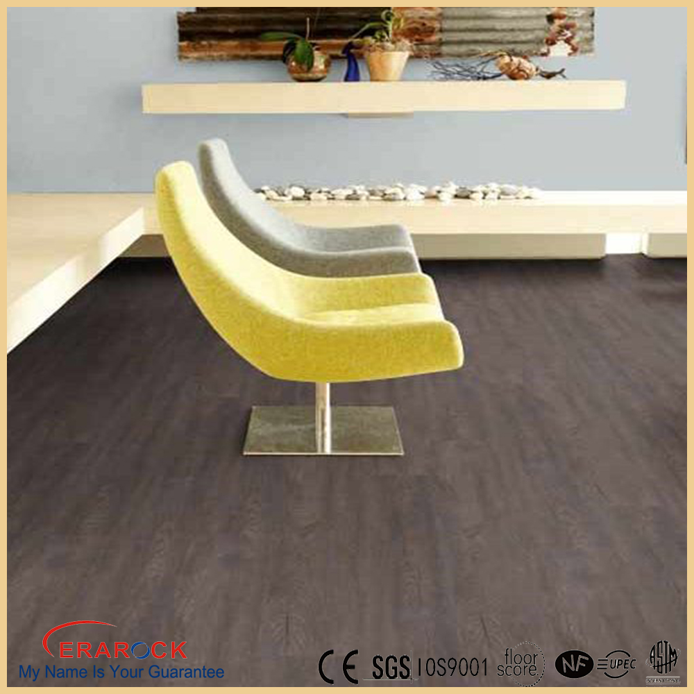 Embossed Wood grian interlocking 3d PVC Flooring prices low