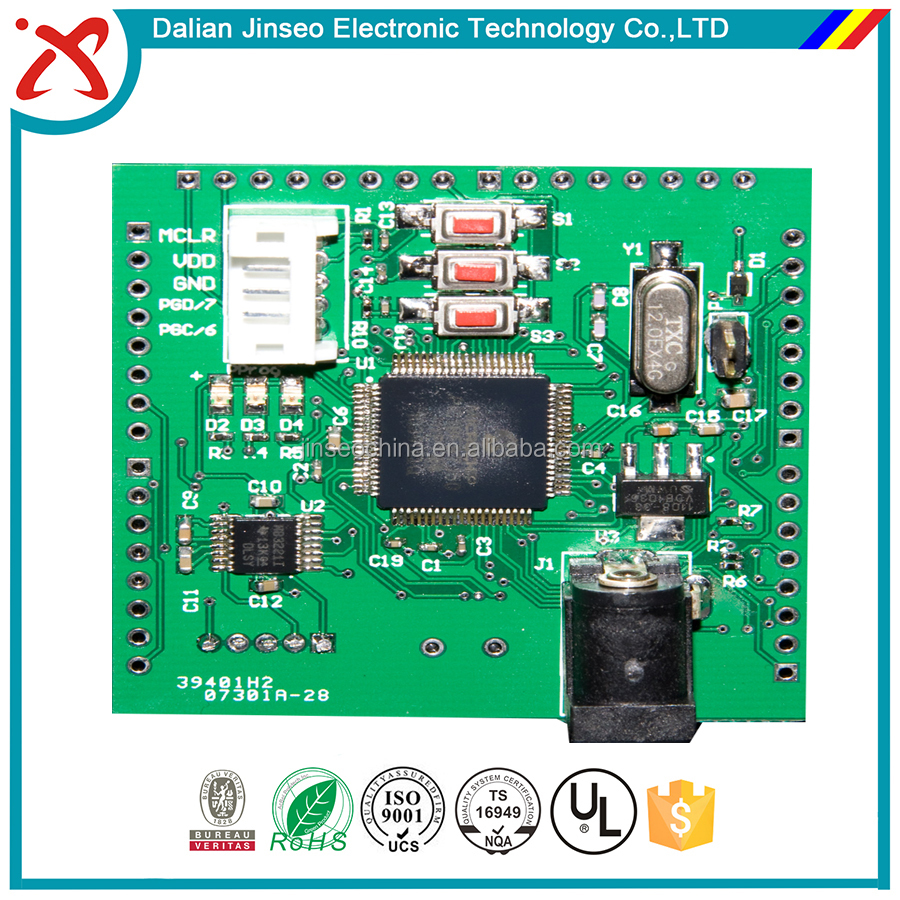 HDI multilayer PCB passive components