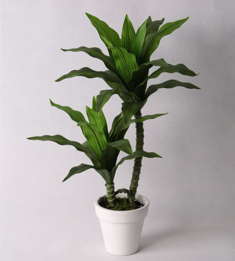 artificial potted landscape magnolia tree