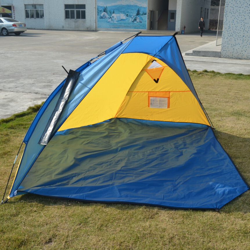 Portable Pop Up Shelters : Portable pop up beach tent cabana camping outdoor sun