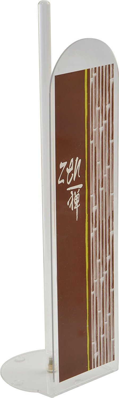 EVIDECO 6701371 Jade Bathroom Freestanding Printed Toilet Tissue Paper Roll Holder Reserve 4 Rolls