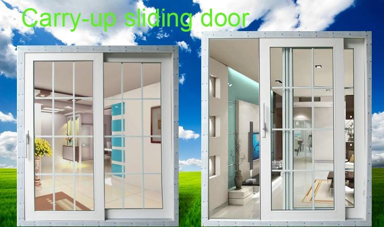 Upvc Lifting Sliding Door With Kin Long Hardware