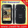 Alibaba Hot Selling Sales Android 4.4 GPS Waterproof Smartphone SUPPU F6 Good Golden Mobile Phone