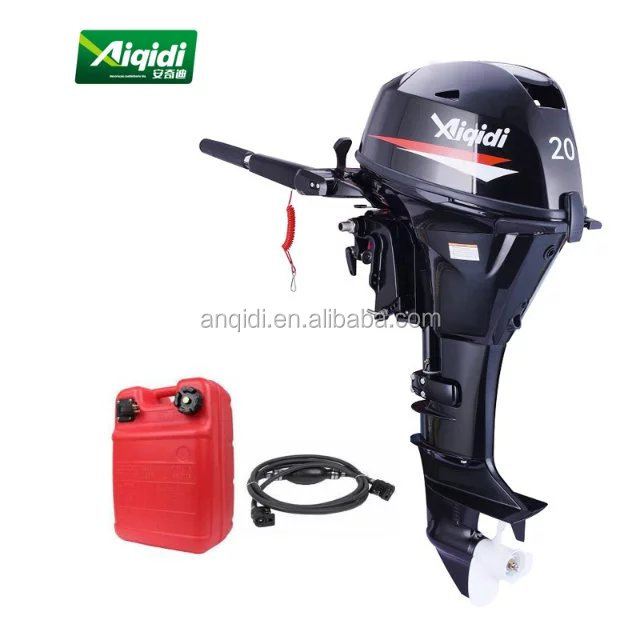 Motor do barco de 4stroke 20hp / motor externo for sale