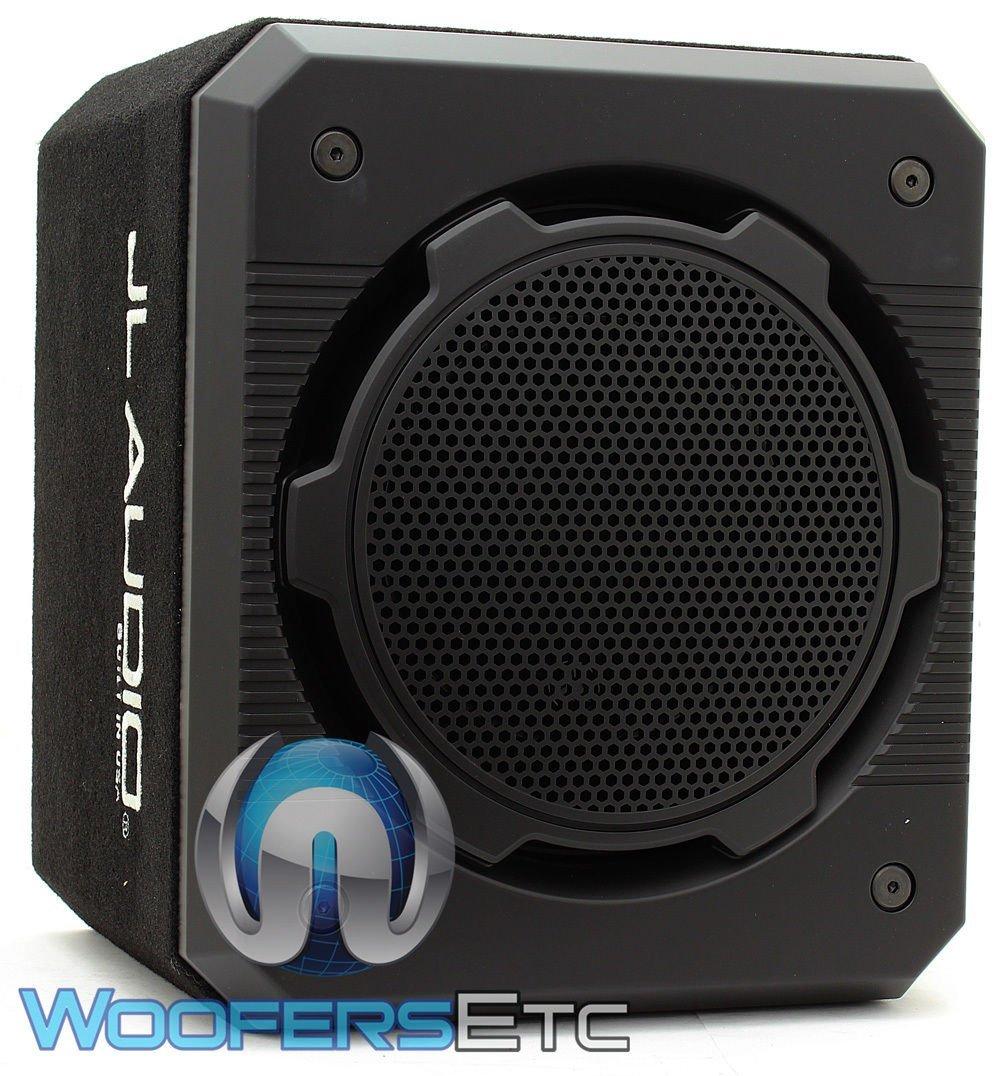 "JL Audio CS112G-W6v3 Sealed ProWedge™ enclosure with one 12"" W6v3 subwoofer"