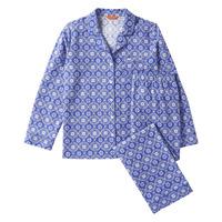 Winter Pajamas Sleepwear Ladies Long Sleeve Brushed Cotton Flannel Pajamas PJs Sleep Set Christmas Pajamas For Women