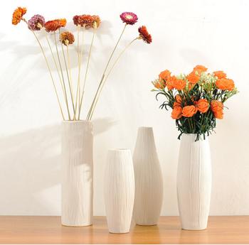 white modern flower vase hotel restaurant home ceramic flower vase & White Modern Flower Vase Hotel Restaurant Home Ceramic Flower Vase ...
